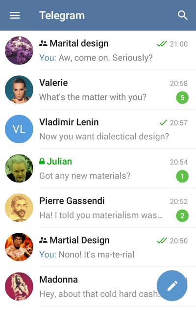 Telegram Android app