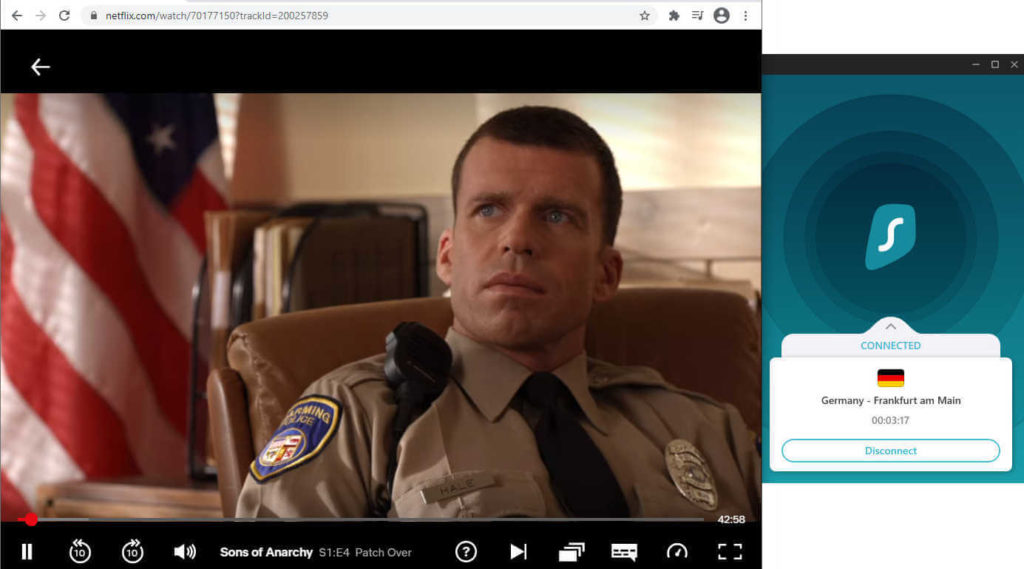 Surfshark easily connects you with Netflix libraries around the world.