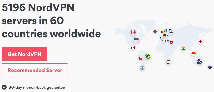 nordvpn server network
